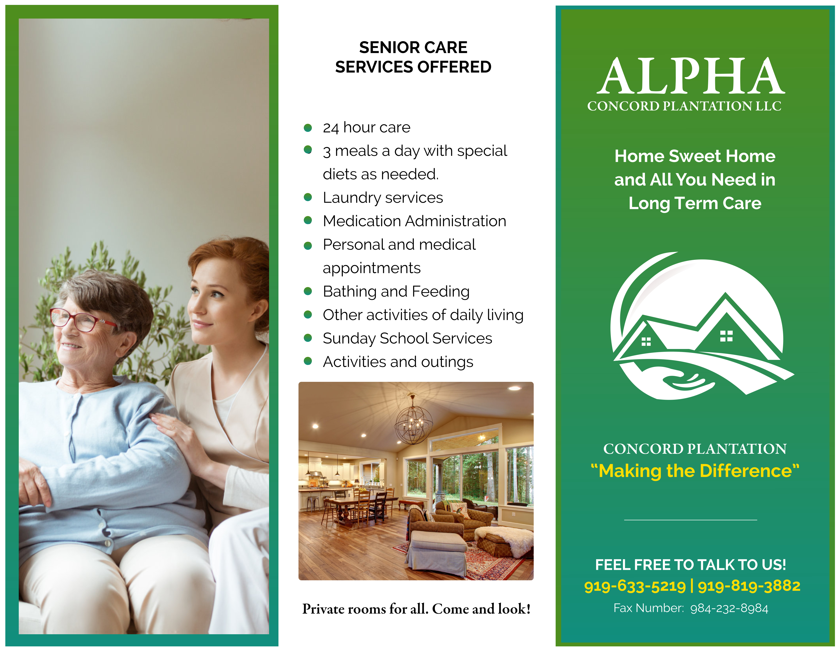 Alpha Concord Plantation LLC Brochure