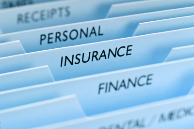 files with insurance the main focus tab